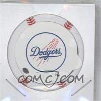 2013 Topps MLB Chipz Silver Team Logo Sticker #CLKE - Clayton Kershaw