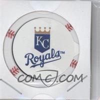 2013 Topps MLB Chipz Silver Team Logo Sticker #ERHO - Eric Hosmer