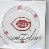 2013 Topps MLB Chipz Silver Team Logo Sticker #N/A - Jay Bruce