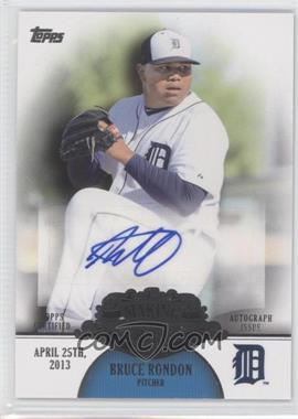 2013 Topps Making Their Mark Certified Autograph [Autographed] #MMA-BR - Bruce Rondon
