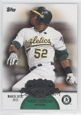 2013 Topps Making Their Mark #MM-1 - Yoenis Cespedes