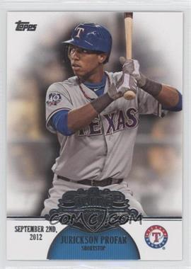 2013 Topps Making Their Mark #MM-21 - Jurickson Profar