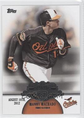 2013 Topps Making Their Mark #MM-24 - Manny Machado