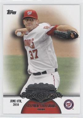 2013 Topps Making Their Mark #MM-25 - Stephen Strasburg