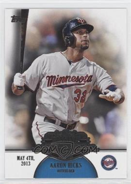 2013 Topps Making Their Mark #MM-35 - Aaron Hicks
