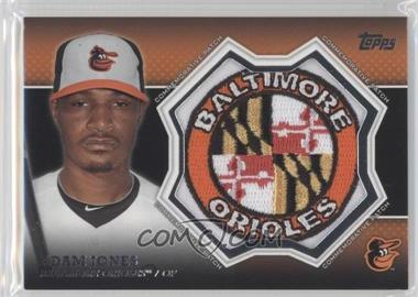 2013 Topps Manufactured Commemorative Patch #CP-1 - Adam Jones