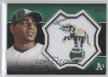 2013 Topps Manufactured Commemorative Patch #CP-18 - Yoenis Cespedes
