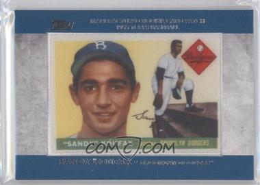 2013 Topps Manufactured Rookie Card Patch #RCP-4 - Sandy Koufax
