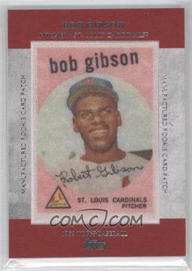 2013 Topps Manufactured Rookie Card Patch #RCP-5 - Bob Gibson