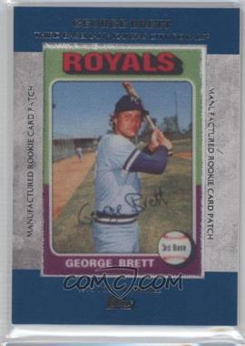 2013 Topps Manufactured Rookie Card Patch #RCP-9 - George Brett