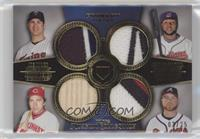 Joe Mauer, Carlos Santana, Johnny Bench, Brian McCann /25