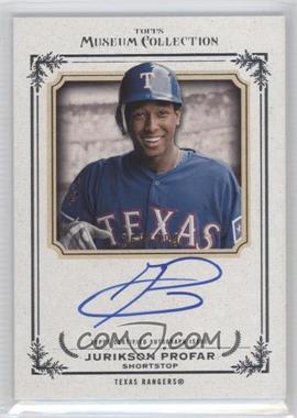 2013 Topps Museum Collection Archival Autographs #AA-JPR - Jurickson Profar