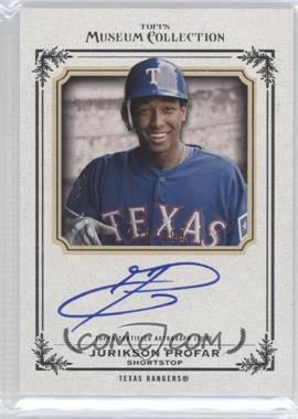 2013 Topps Museum Collection Archival Autographs #AA-JPR - Jurickson Profar /399