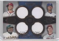 Bryce Harper, Yu Darvish, Yoenis Cespedes, Mike Trout /75