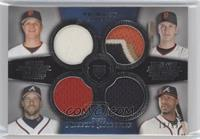 Matt Cain, Buster Posey, John Smoltz, Jason Heyward /99