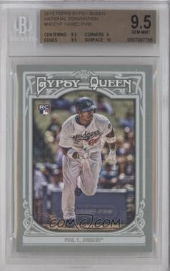 2013 Topps National Convention - Gypsy Queen #NCC-YP - Yasiel Puig [BGS9.5]