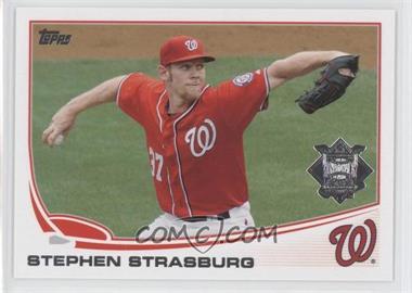 2013 Topps National League All Star Team - [Base] #NL-8 - Stephen Strasburg
