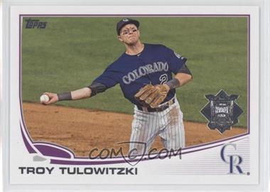 2013 Topps National League All Star Team #NL-6 - Troy Tulowitzki