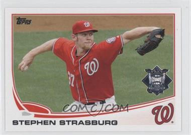 2013 Topps National League All Star Team #NL-8 - Stephen Strasburg