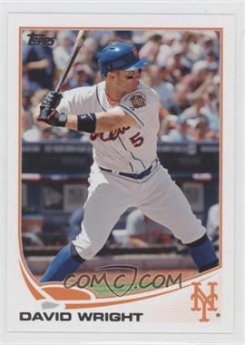 2013 Topps New York Mets - [Base] #NYM-1 - David Wright