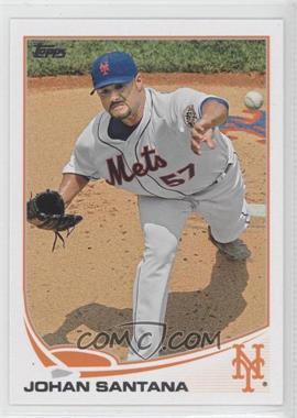 2013 Topps New York Mets - [Base] #NYM-2 - Johan Santana