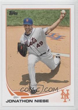 2013 Topps New York Mets - [Base] #NYM-8 - Jonathon Niese
