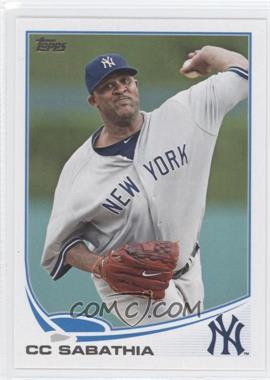 2013 Topps New York Yankees #NYY-4 - C.C. Sabathia