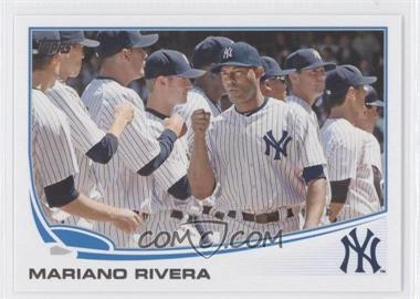 2013 Topps New York Yankees #NYY-8 - Mariano Rivera
