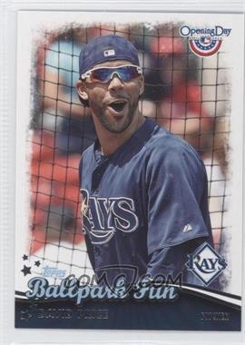 2013 Topps Opening Day - Ballpark Fun #BF-22 - David Price