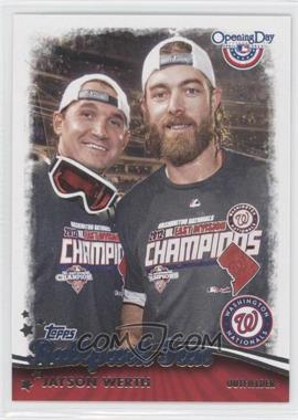 2013 Topps Opening Day Ballpark Fun #BF-14 - Jayson Werth
