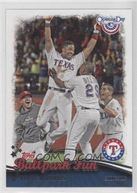 2013 Topps Opening Day Ballpark Fun #BF-16 - Elvis Andrus