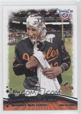2013 Topps Opening Day Ballpark Fun #BF-7 - Manny Machado