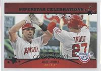 Albert Pujols, Mike Trout