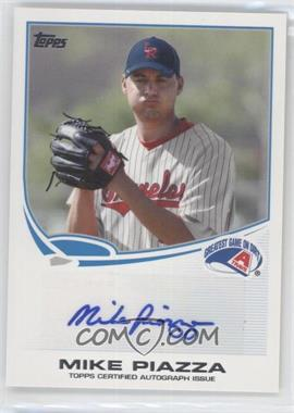 2013 Topps Pro Debut Autographs #PDA-MP - Mike Piazza