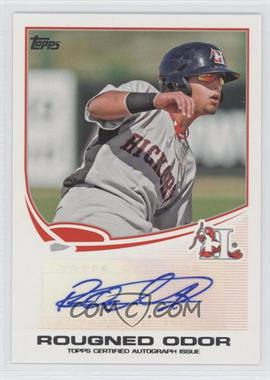 2013 Topps Pro Debut Autographs #PDA-RO - Rougned Odor