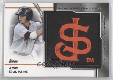 2013 Topps Pro Debut Hat Logo Patch #MP-JP - Joe Panik /75