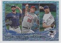 David Price, Matt Harrison, Jeff Weaver /25