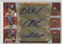 Will Middlebrooks, Dustin Pedroia, Mike Napoli /10