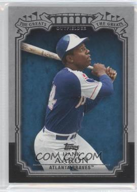 2013 Topps The Greats #TG-22 - Hank Aaron