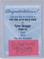 Tyler Skaggs /99 [REDEMPTION Being Redeemed]