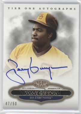 2013 Topps Tier One Autographs #TTA-TG - Tony Gwynn /50