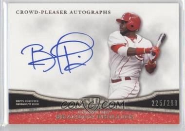 2013 Topps Tier One Crowd-Pleaser Autographs #CPA-BP2 - Brandon Phillips /299