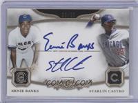 Ernie Banks, Starlin Castro /25