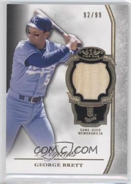 2013 Topps Tier One Legends Relics #TORL-GB - George Brett /99