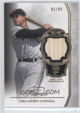 2013 Topps Tier One Legends Relics #TORL-OC - Orlando Cepeda /99