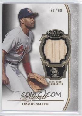 2013 Topps Tier One Legends Relics #TORL-OS - Ozzie Smith /99
