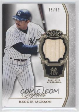 2013 Topps Tier One Legends Relics #TORL-RJ - Reggie Jackson /99