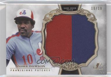 2013 Topps Tier One Prodigious Patches #PP-AD - Andre Dawson /10