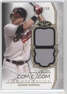 2013 Topps Tier One Relics Double #TODR-JK - Jason Kipnis /50