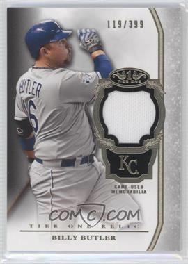 2013 Topps Tier One Relics #TOR-BB - Billy Butler /399